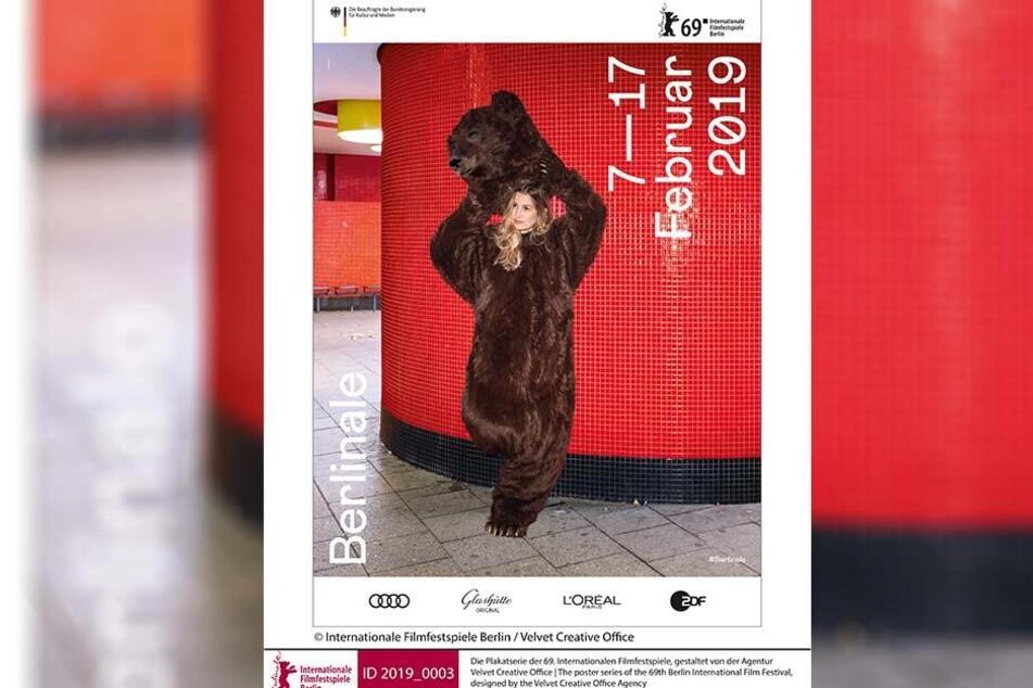Almut im Bärenkostüm: Sie war das sächsische Gesicht der diesjährigen Berlinale.