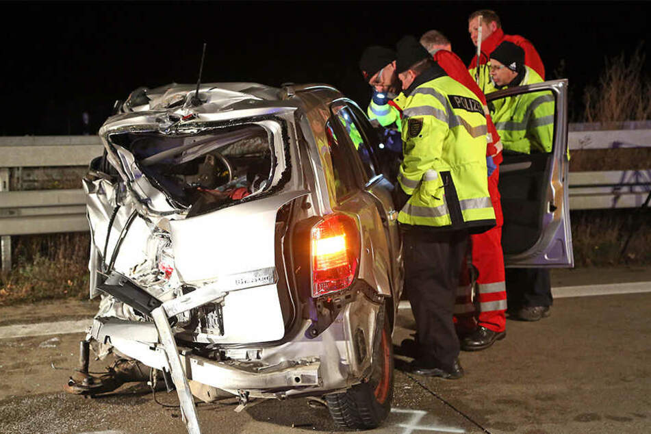 Für das Ehepaar Petra (†57) und Wolfram S. (†61) aus Stollberg im Opel kam jede Hilfe zu spät.
