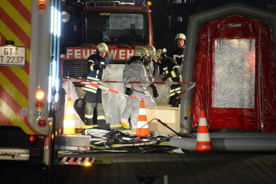 Bis gegen Mitternacht war die Feuerwehr im Einsatz.