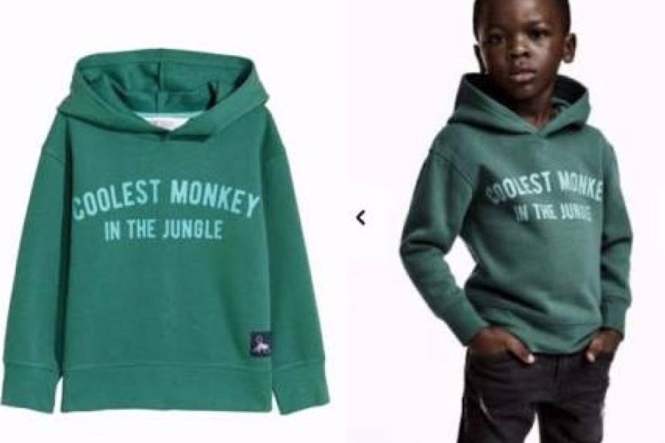 Mit diesem Pullover sorgte H&M für einen weltweiten Skandal.