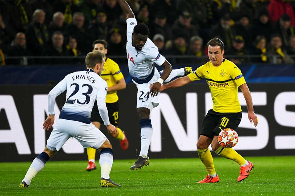 Spielte eine tolle erste Halbzeit: BVB-Star Mario Götze (r.).