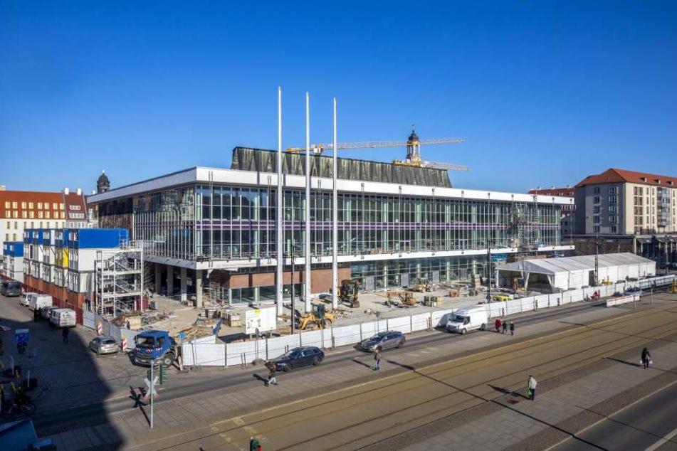 Der Kulturpalast in Dresden soll am 28. April endlich eröffnet werden.