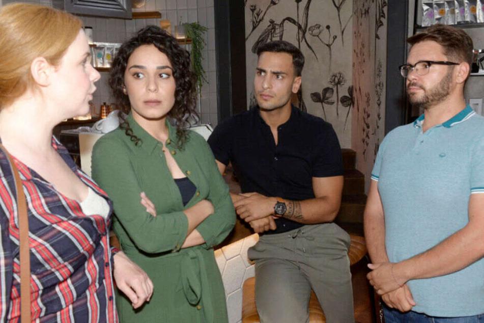 Für Toni, Shirin, Nihat und Tuner wird es im Vereinsheim keine Einwegbecher mehr geben.