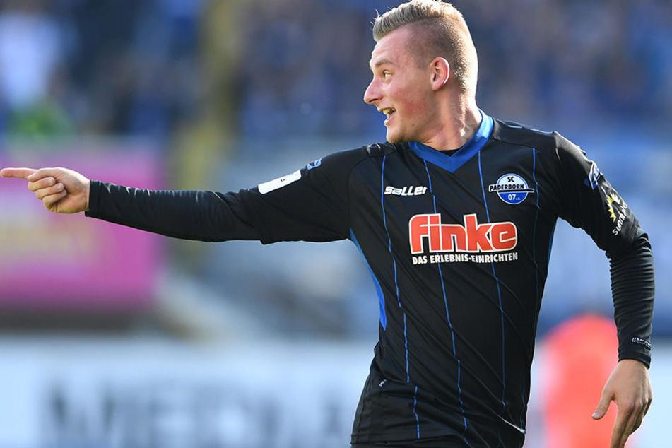 Marlon Ritter überragte gegen Werder Bremen. Per direktem Freistoß trug er sich in die Torschützenliste ein.