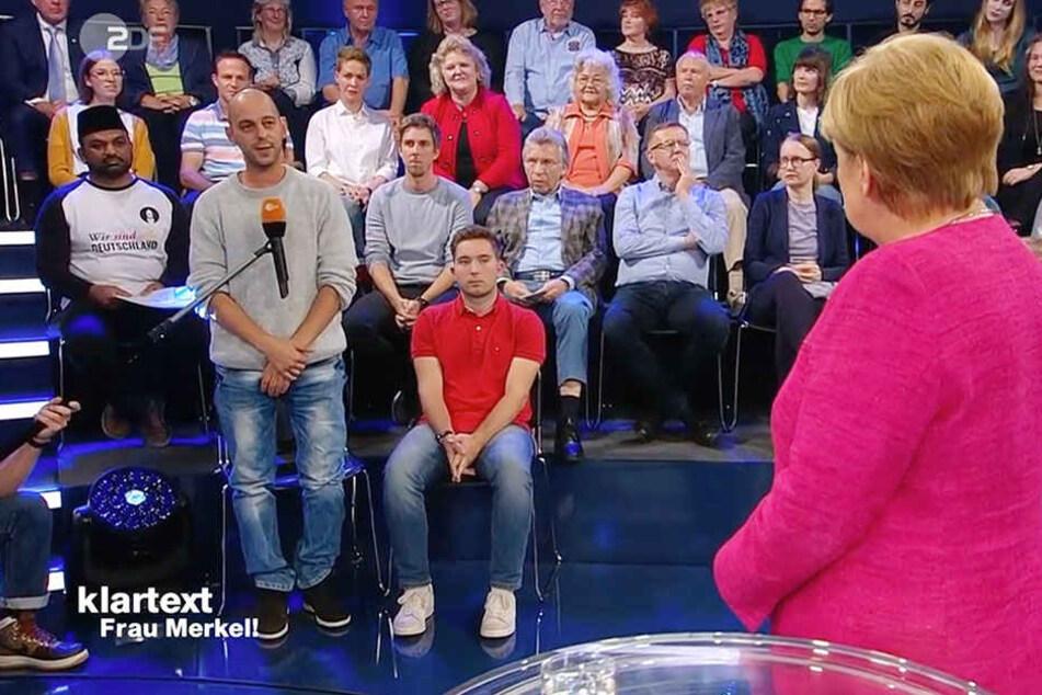 Schon wieder! Altenpfleger spricht Klartext mit Merkel