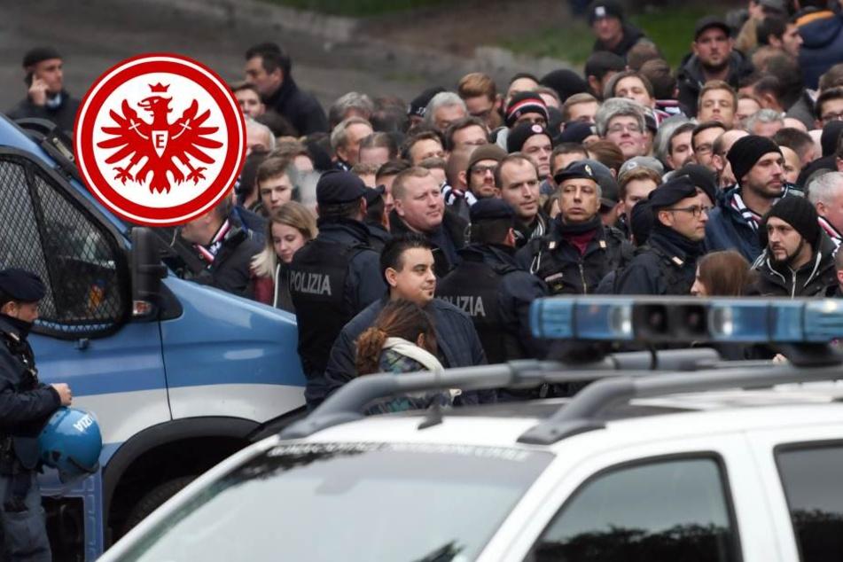 Eintracht-Fans vor Europa-League-Spiel bei Lazio Rom festgenommen!