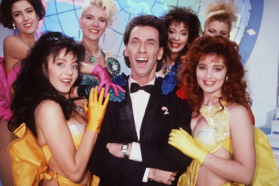 """""""Tutti Frutti"""" mit Hugo Egon Balder (heute 66) war eines der größten TV-Spektakel der 90er."""