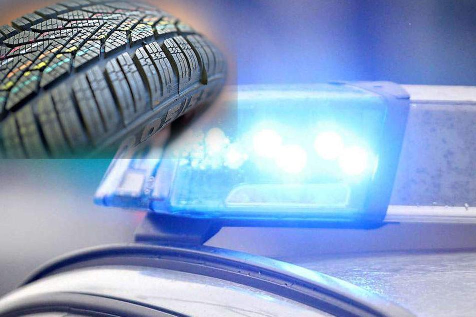 Schrecklicher Arbeitsunfall: Explodierender Reifen tötet zwei Männer