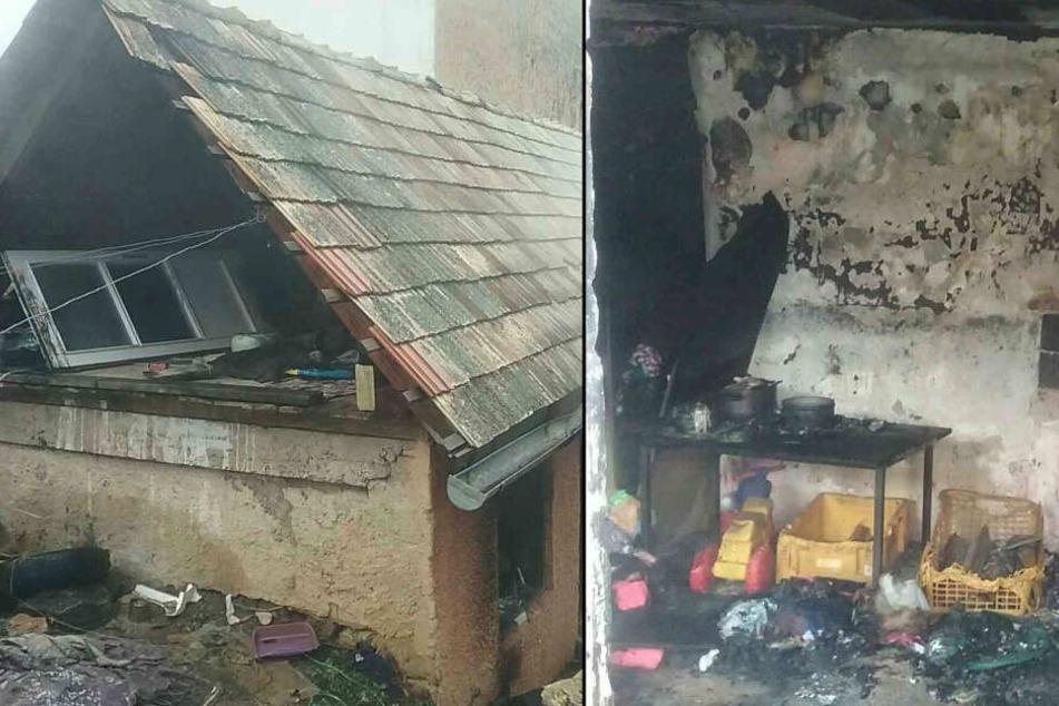 Tragödie im Dorf: Drei Kleinkinder sterben bei Feuer