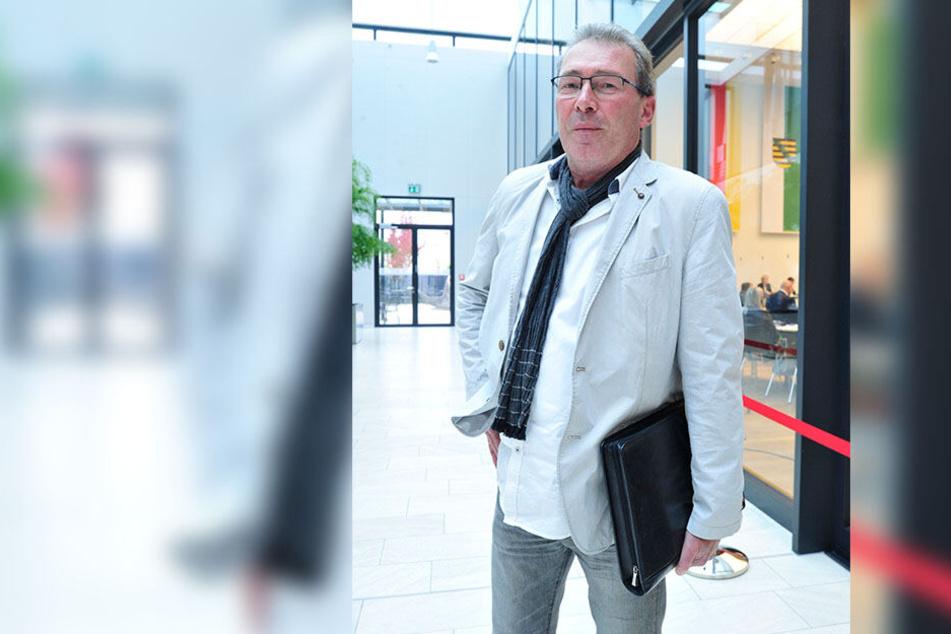 SPD-Fraktionsvorsitzender Jens Heinzig (57).