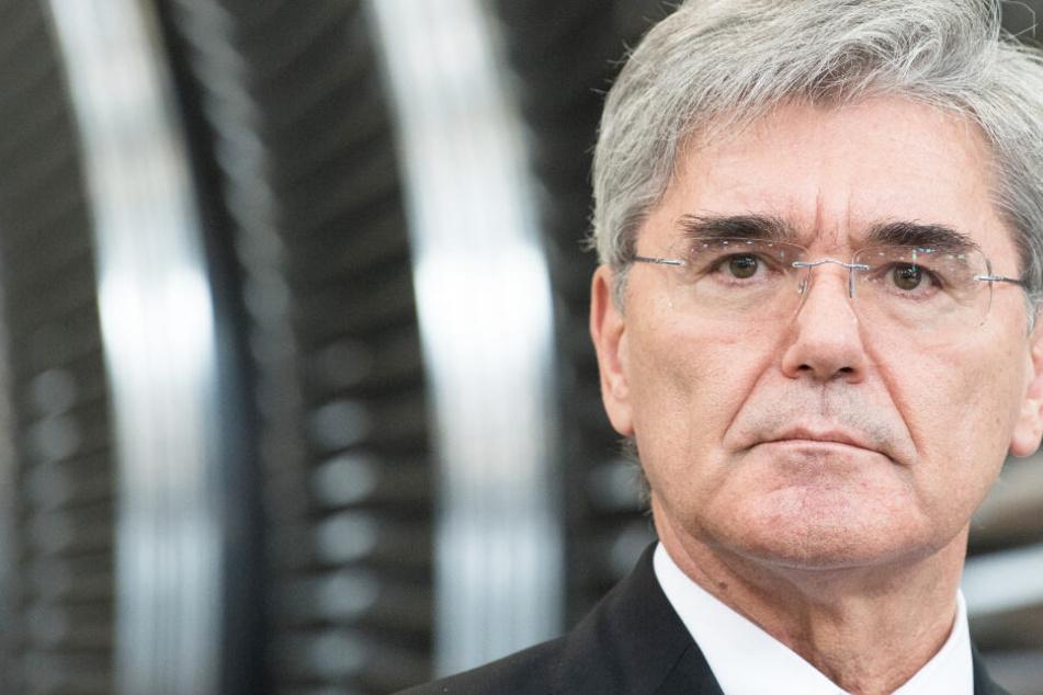 Siemens-Chef Joe Kaeser macht klare Ansage: Klimaaktivisten verweigern sich einer Lösung!
