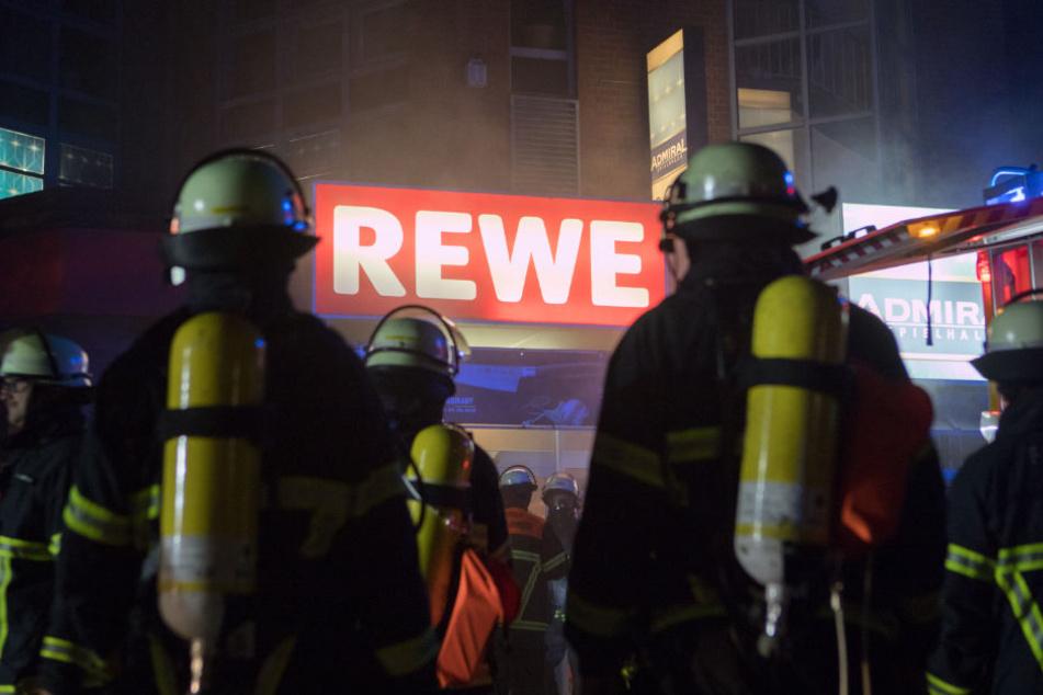 Zunächst gab es Probleme, den Brandherd ausfindig zu machen.