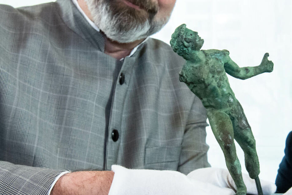 Verschwundene Statuette nach 75 Jahren zurück in Kasseler Museum
