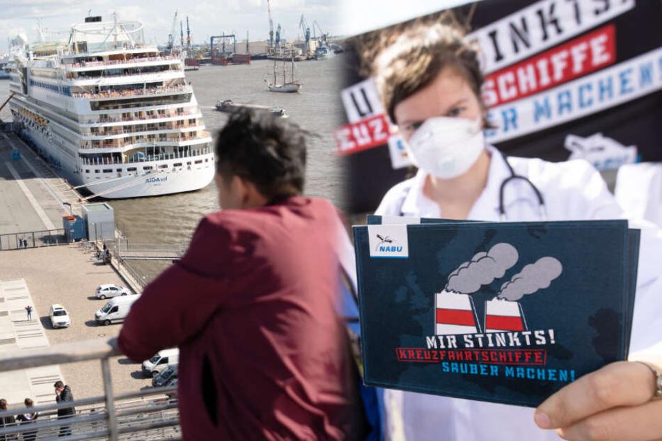 Cruise Days: Kreuzfahrtfestival beginnt mit Klima-Protesten