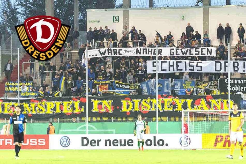 Neuer Spielort: Hier tritt Dynamo in der 1. Pokalrunde an