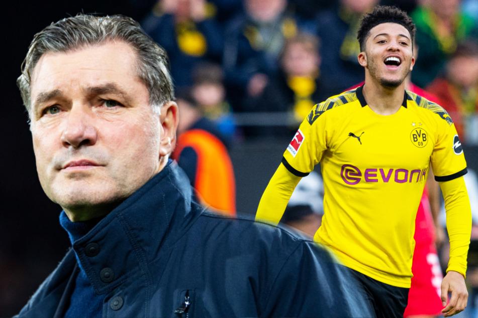 BVB-Sportdirektor Michael Zorc (57) sieht die Diskussion um Youngster Jadon Sancho (20) ganz entspannt.