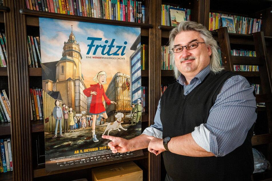 """Michael Harbauer (51), Leiter des Schlingel-Filmfestivals, reist mit dem Film """"Fritzi"""" nach Moskau."""