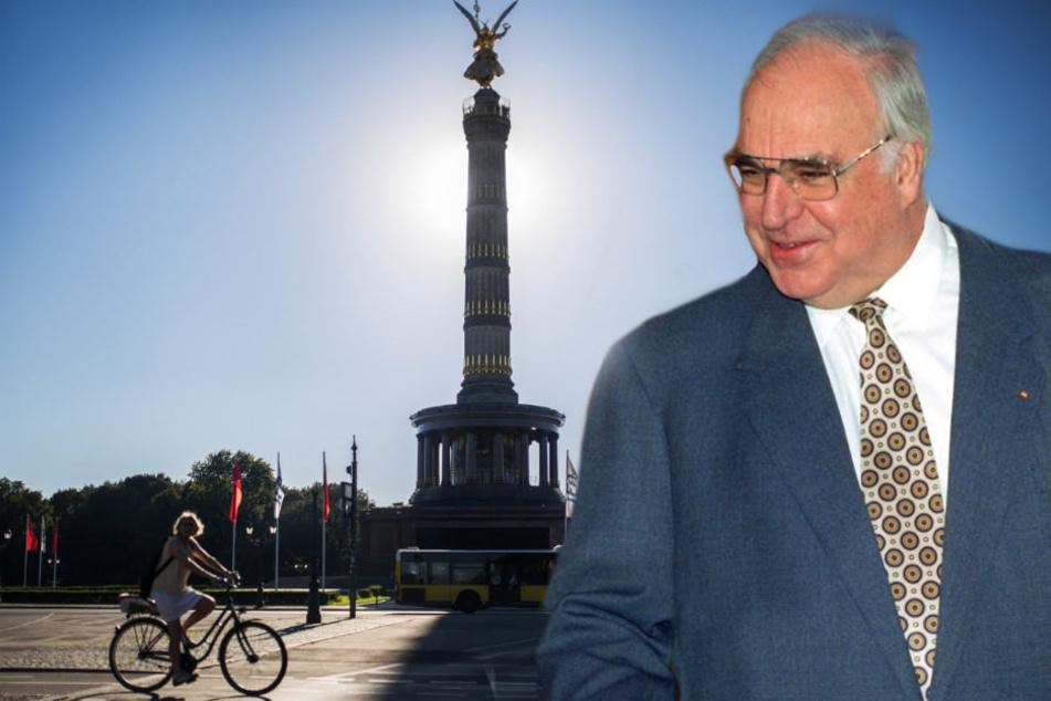 Die Berliner CDU will einen Platz in Berlin nach Helmut Kohl benennen.