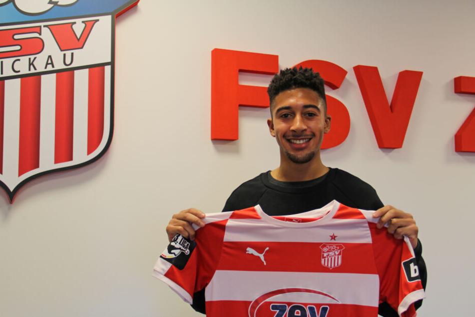 Punktet mit Schnelligkeit: US-Boy Orrin McKinze Gaines II. Der 20-jährige Offensivmann kommt auf Leihbasis von Zweitligist SV Darmstadt 98.