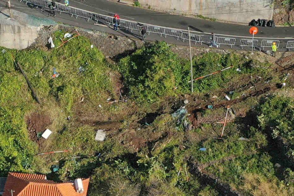 Bei dem Busunglück auf der portugiesischen Atlantikinsel Madeira sind 29 Menschen ums Leben gekommen.