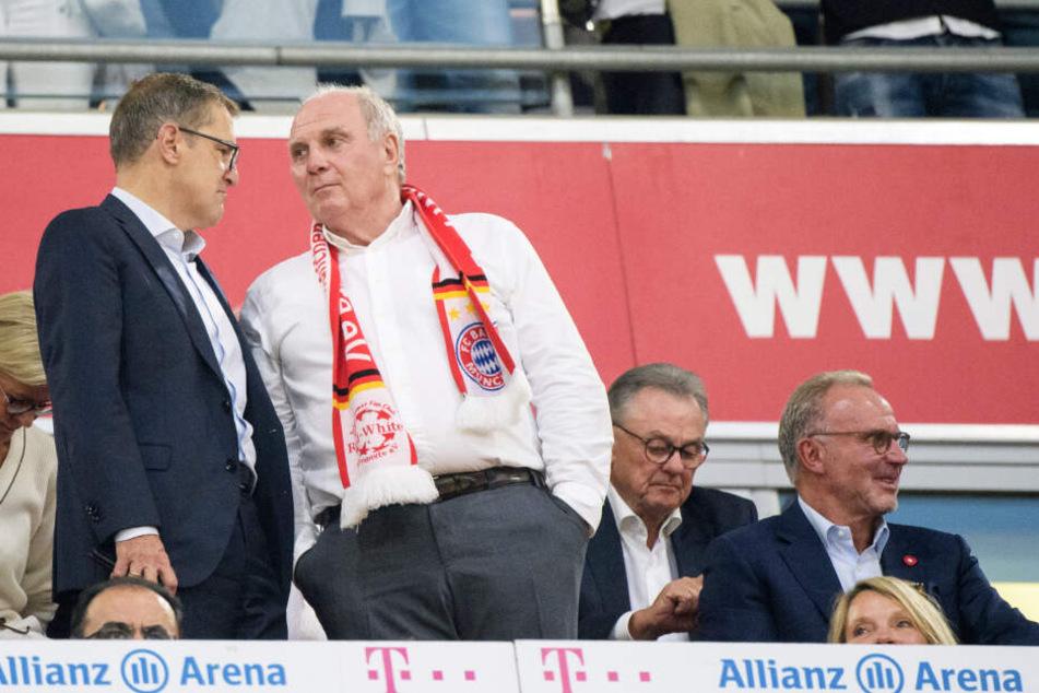 Die Bayern-Bosse dürften hochzufrieden mit ihrem Transfercoup sein.