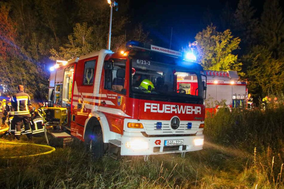 Die Feuerwehr musste am Donnerstagabend auf das Gelände des Schlosses Dammsmühle ausrücken.