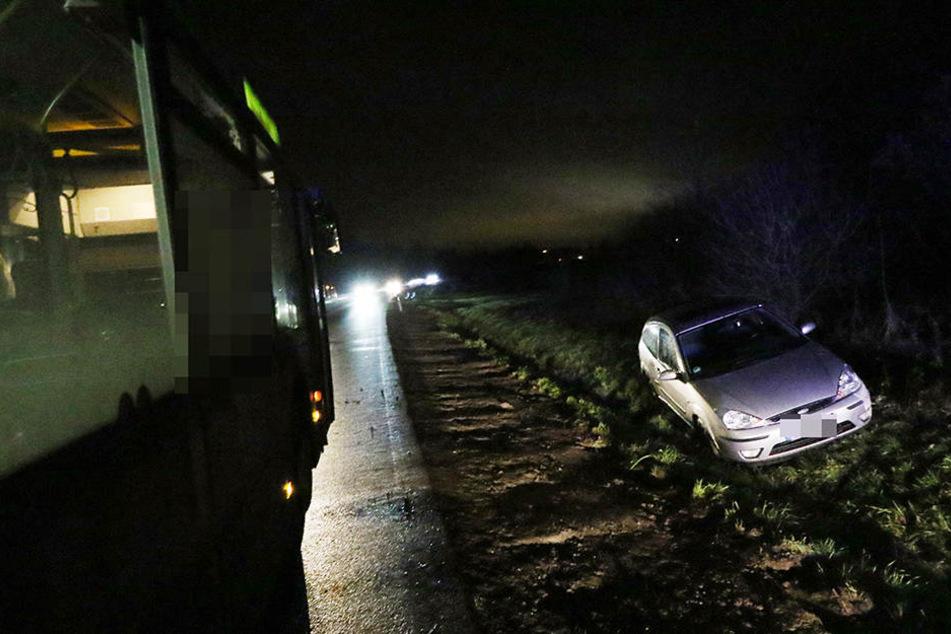 Verletzt wurde zum Glück niemand bei dem Unfall.