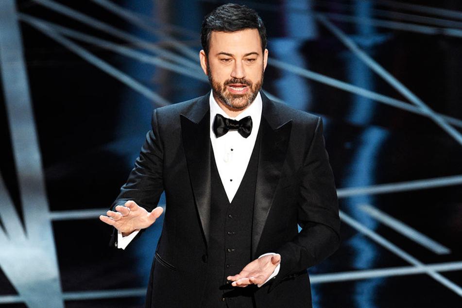 Für ihn spielte Sacha Baron Cohen nochmal seinen Kult-Charakter Borat: US-Moderator Jimmy Kimmel.