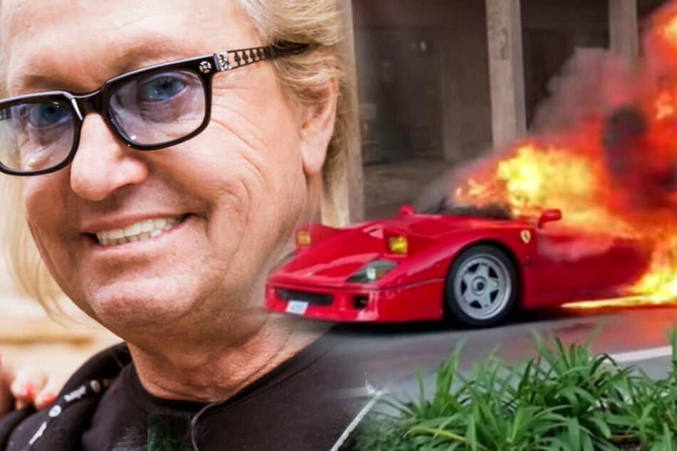 Robert Geiss trauert um fackelnden Ferrari F40