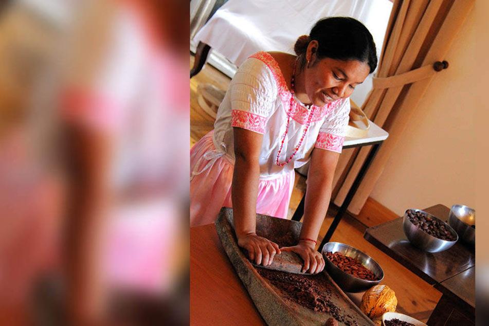 """Beim """"EuroBean Chocolate Festival"""" auf Schloss Rochsburg werden Schokoladensorten aus der ganzen Welt präsentiert."""