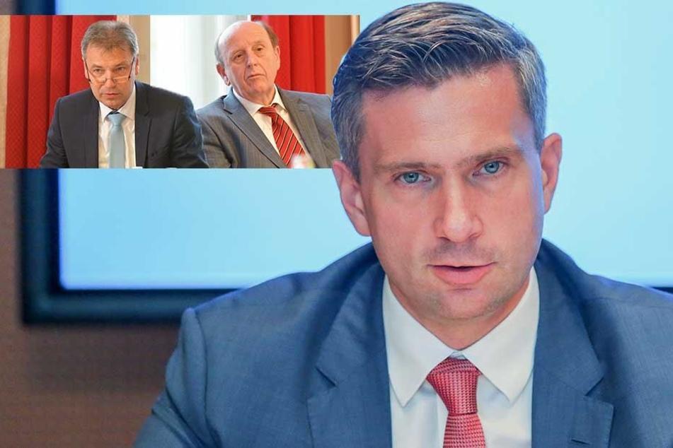 Nahverkehrspläne: Aufstand der Landräte gegen Minister Dulig