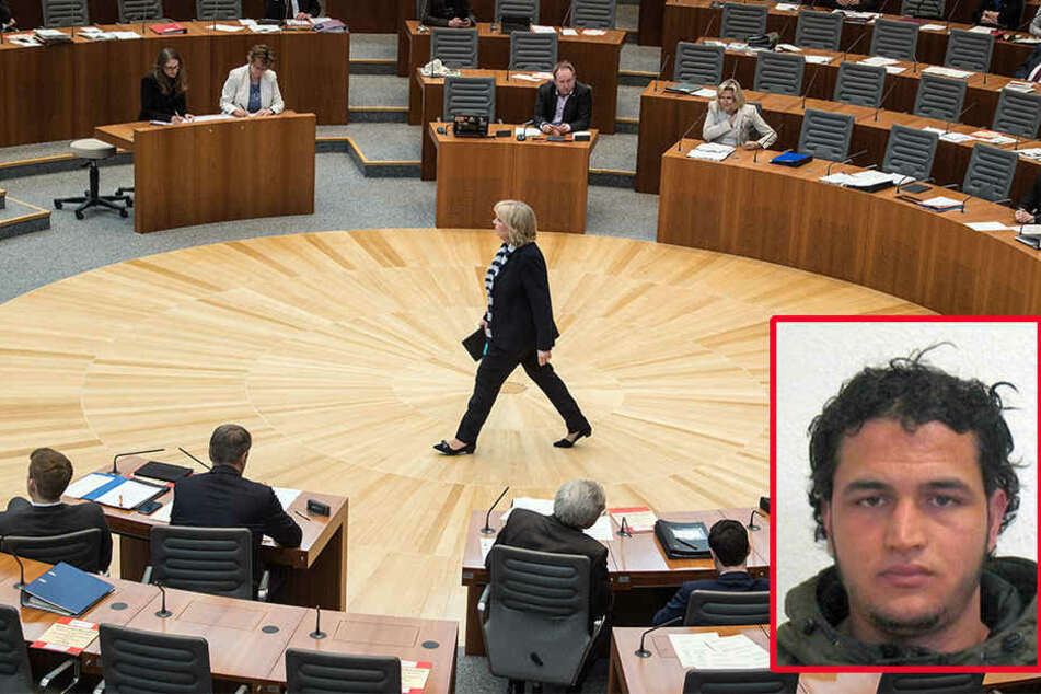 Hannelore Kraft (55) musste sich im NRW-Landtag einiges anhören.