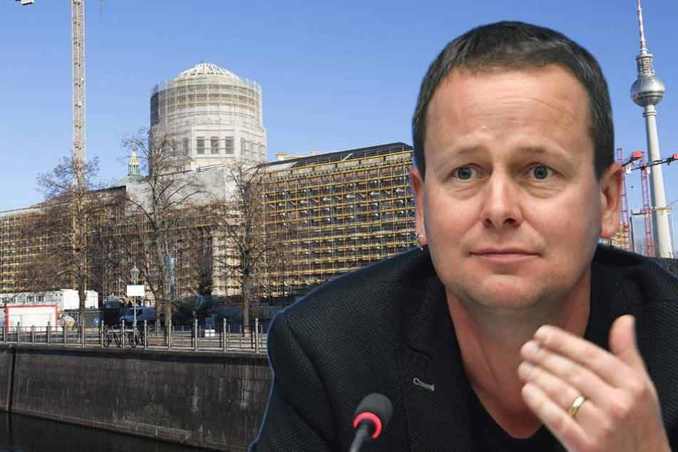 Landeskultursenator Klaus Lederer ist sich nicht sicher, ob freier Eintritt im Schloss eine so gute Idee ist.