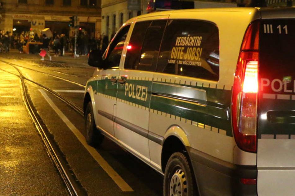 In der Neustadt wurde ein 25 Jahre alter Mann mit dem Messer bedroht.
