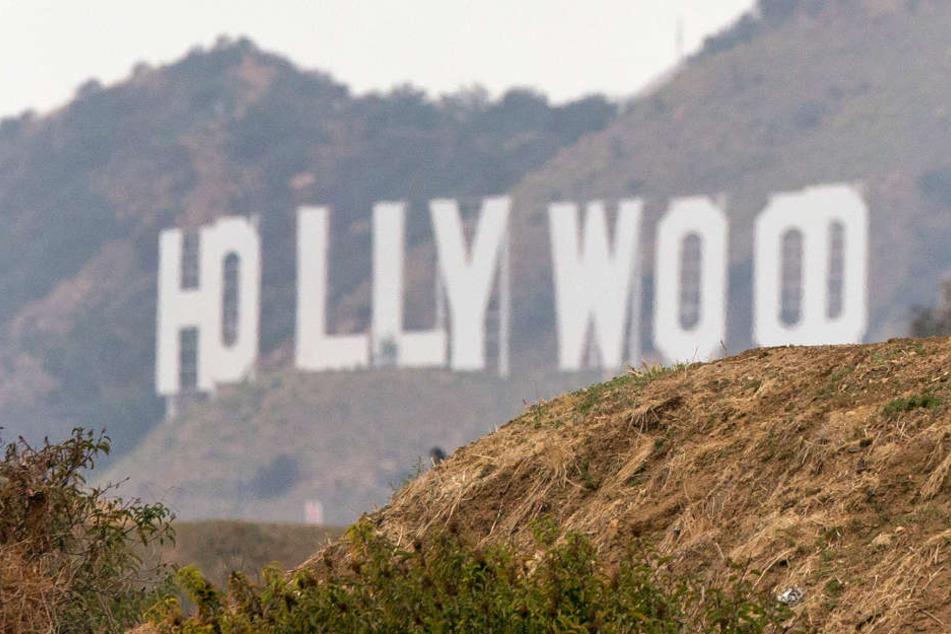 Der berühmte Schriftzug der us-amerikanischen Filmschmiede Hollywood.