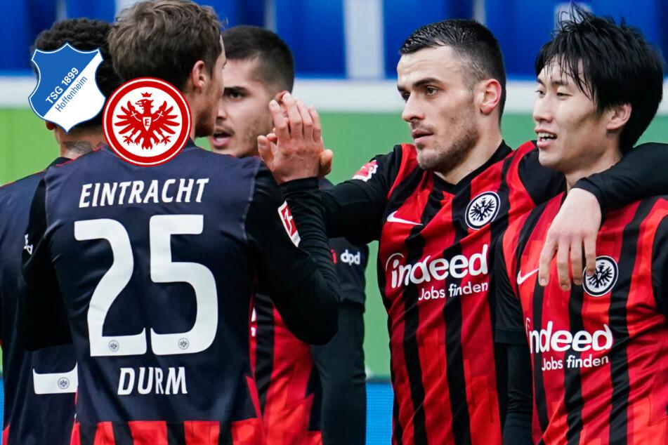 Mit Knaller-Kostic auf Königsklassen-Kurs: Eintracht fegt auch Hoffenheim vom Platz