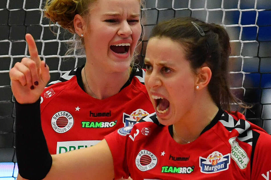Maria Segura (vorn) war mit 13 Punkten beste Scorerin der Partie.