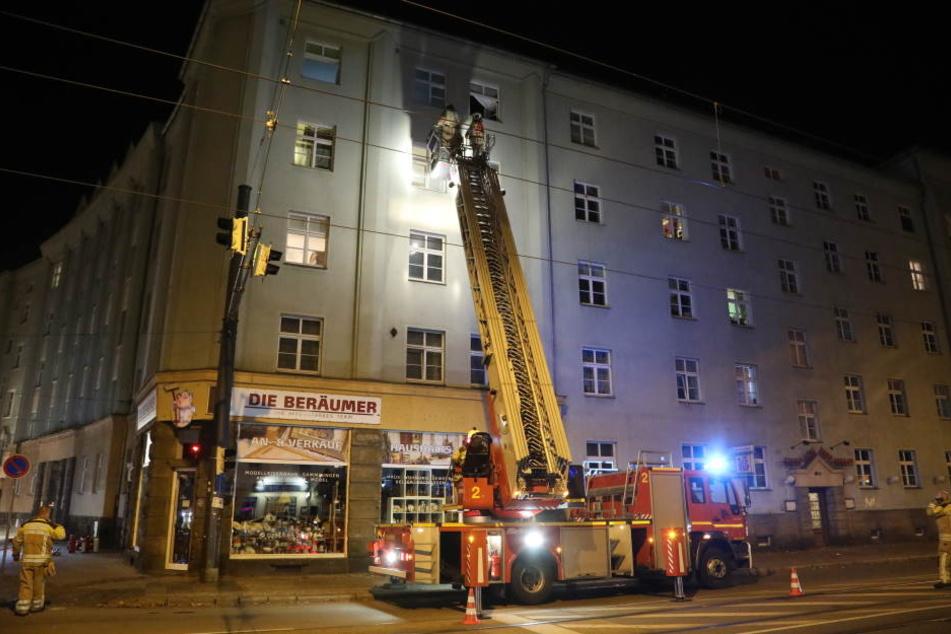 Die Feuerwehr war am Montagabend mit mehreren Einsatzkräften vor Ort.