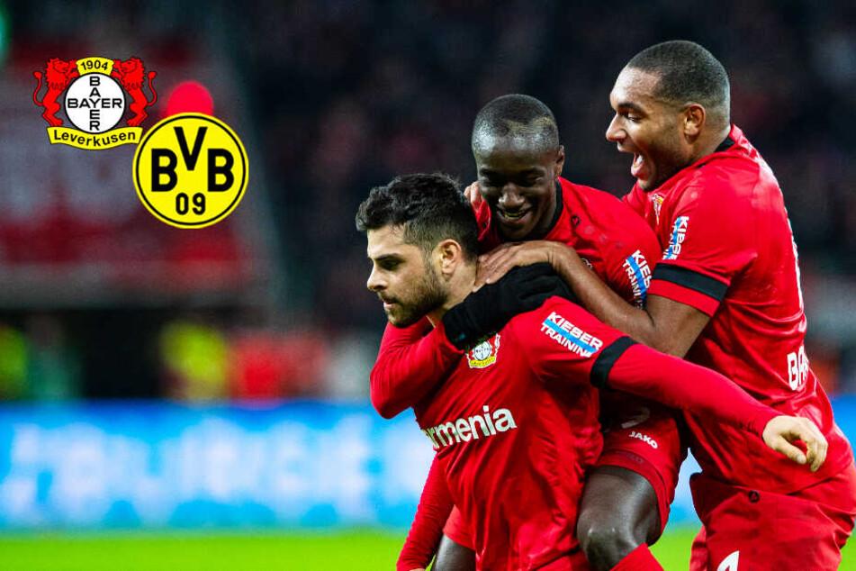 BVB und Bayer Leverkusen mit sensationellem Sieben-Tore-Spektakel!