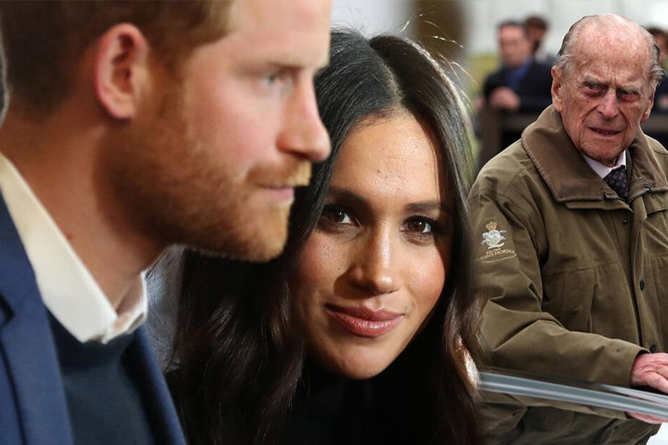 Prinz Philip soll ihn gewarnt haben: Selbst Harrys Opa hat etwas gegen Meghan