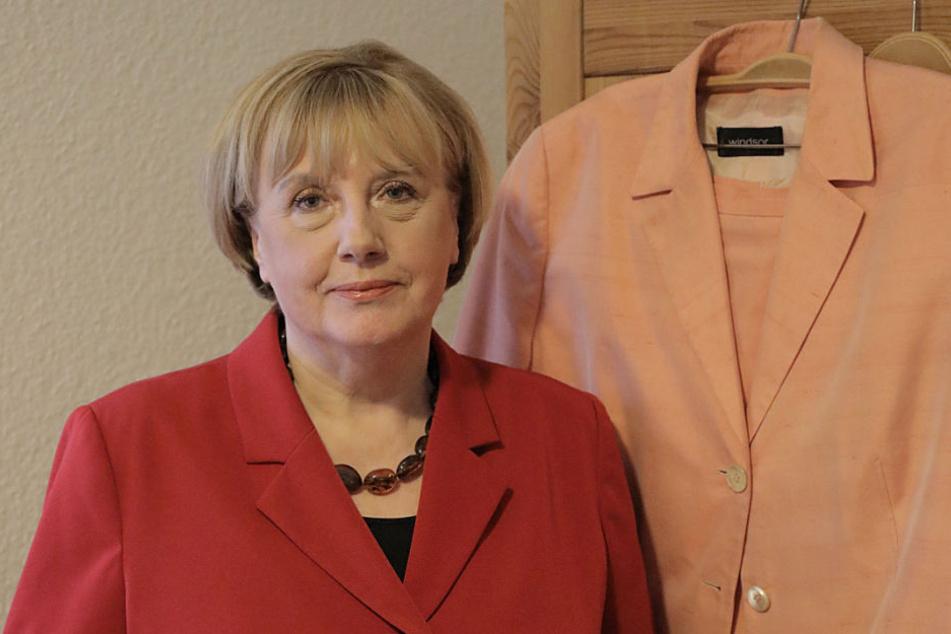 Merkel-Double Ursula Warnecki freut sich auf mehr Ruhe für sich und die Kanzlerin.