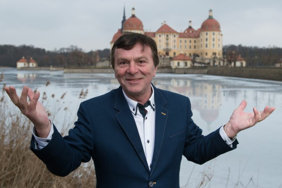 Pavel Travnicek (68, spielte den Prinz) besuchte 2017 die Aschenbrödel-Ausstellung auf Schloss Moritzburg.