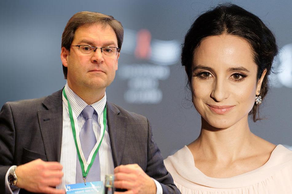 CDU-Politiker Hermann Winkler (54) stichelte auf Facebook gegen die MDR-Moderatorin Stephanie Stumph (33).