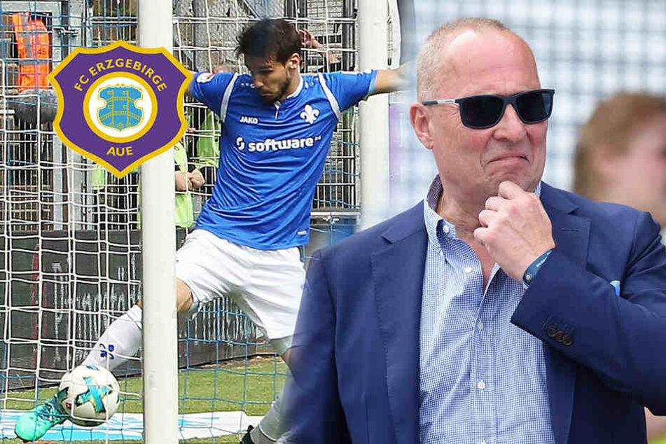 Wegen kritischer Aussagen! Jetzt ermittelt der DFB gegen Aue-Boss Leonhardt