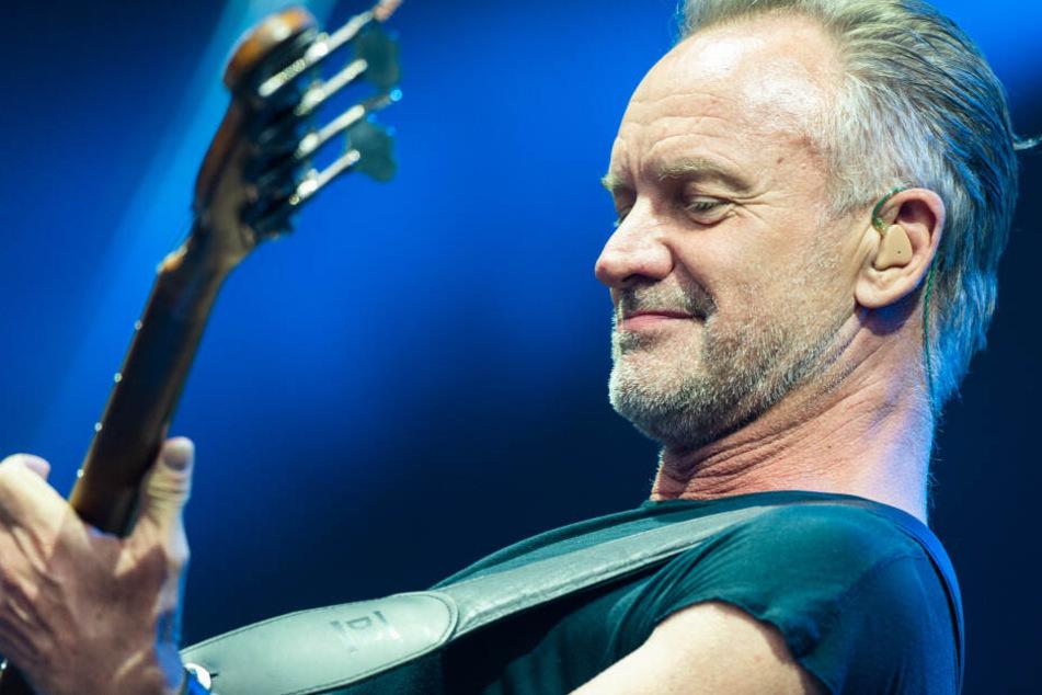 Sorge um Sting wächst: Sänger muss nun auch Konzert in Bonn absagen