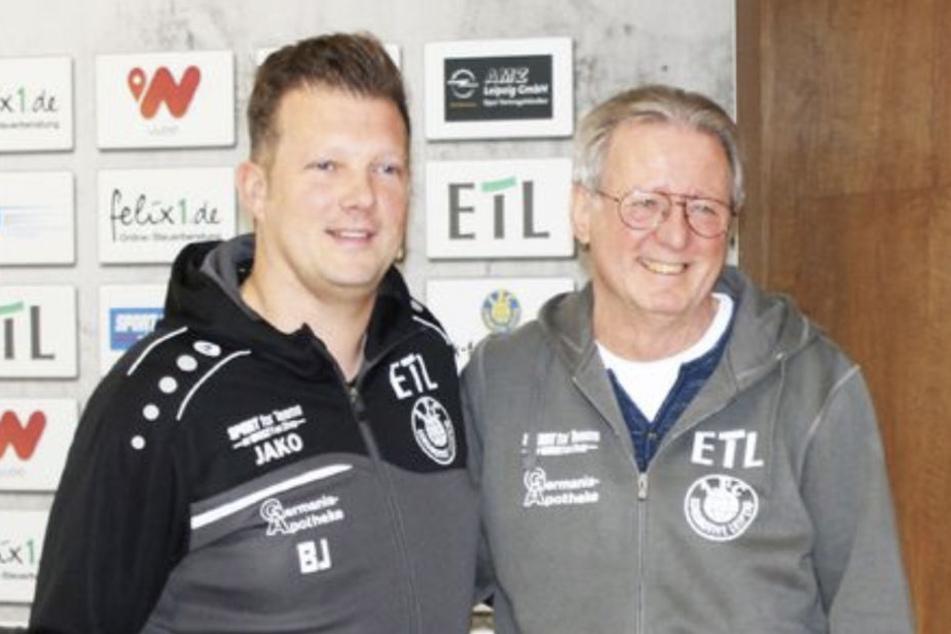Björn Joppe (40, l.) und Rainer Lisiewicz (69, r.) fungieren nun als Team-Chef beziehungsweise Chef-Trainer.