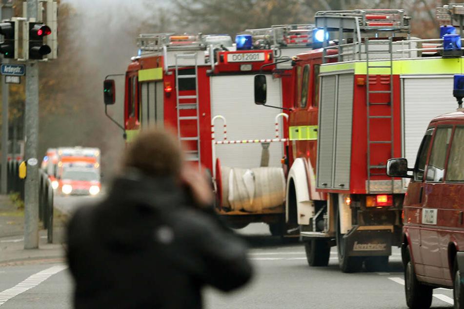 Die Einsatzkräfte der Feuerwehr konnten den Brand unter Kontrolle bringen. (Symbolbild)