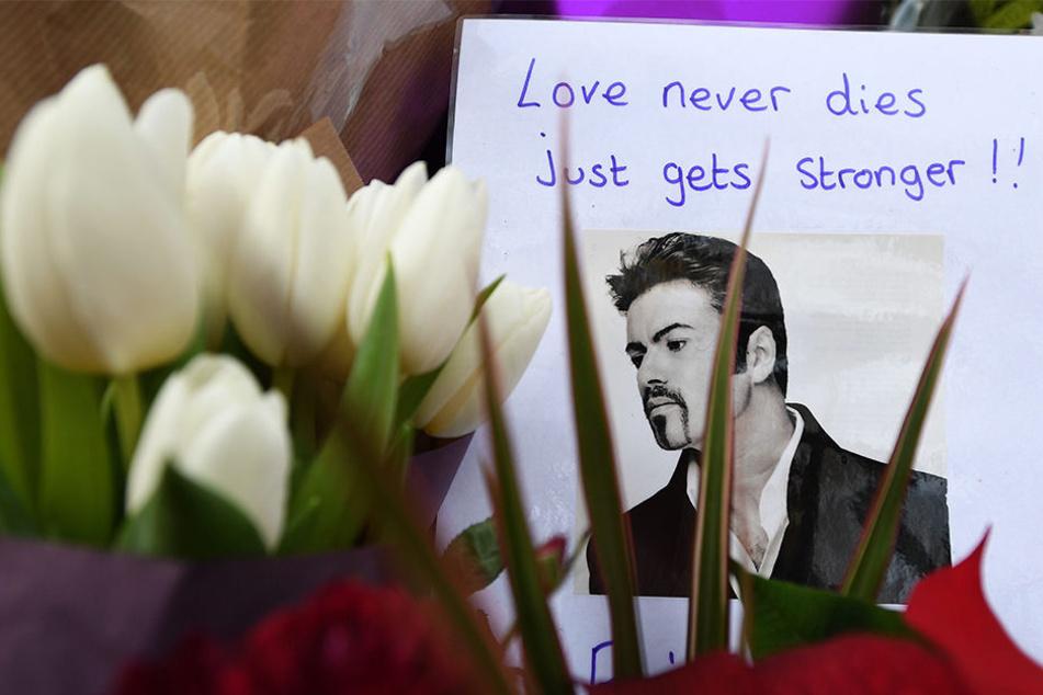 George Michael starb am 25. Dezember 2016 im Alter von 53 Jahren.