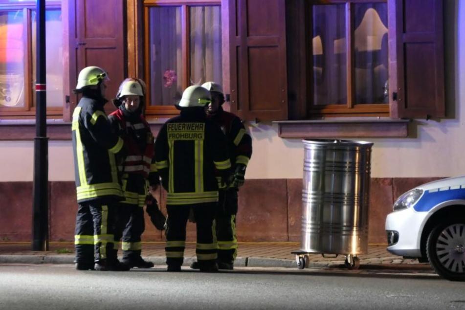 Feuerwehreinsatz in Bad Lausick.