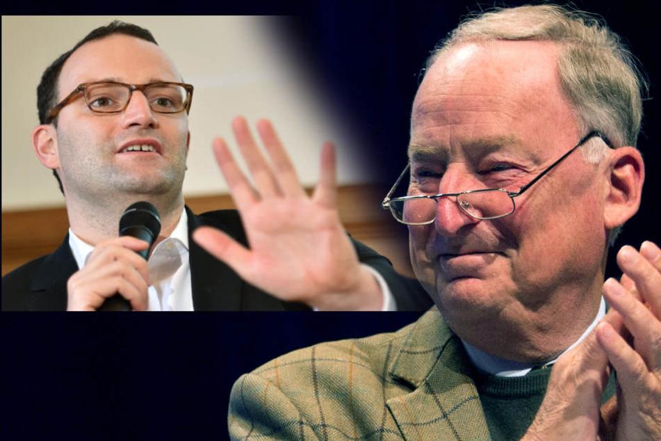 """CDU-Spahn bekommt AfD-Beifall! """"Sie vertreten unsere Positionen"""""""